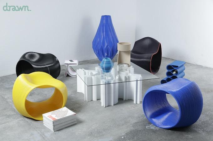 Your original 3d printed furnished room