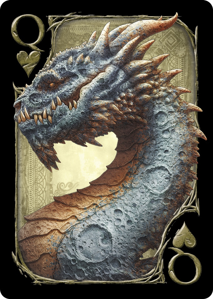 Dragons playing card deck printed by uspcc by robert burke - The moon dragon the eco tiny house ...
