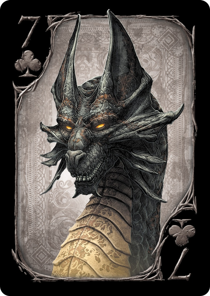 7 of Clubs (Black Dragon)