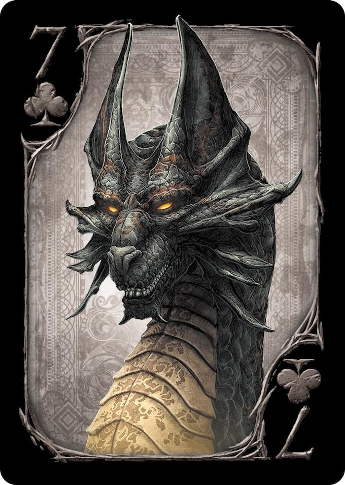 7 of Clubs (Black Dragon)