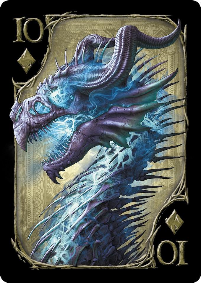 10 of Diamonds (Undead Dragon)