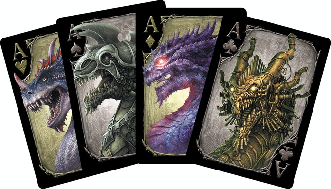 4 Aces (Bloodhorn, Battle, Star and Clockwork Dragons)