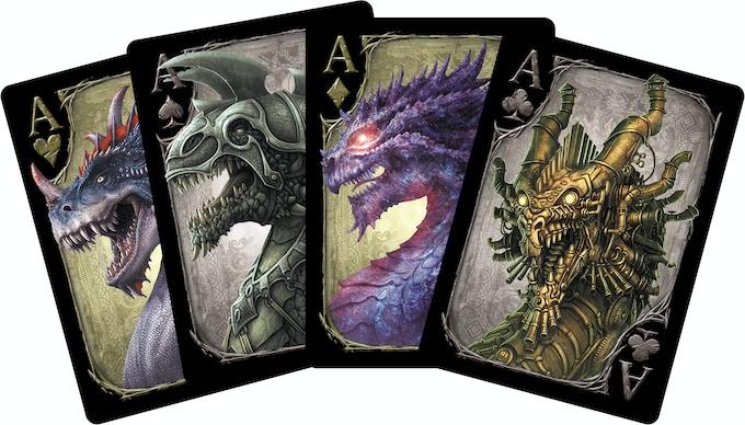 4 Aces (Bloodhorn, Battle, Star and Clockwork Dragons)