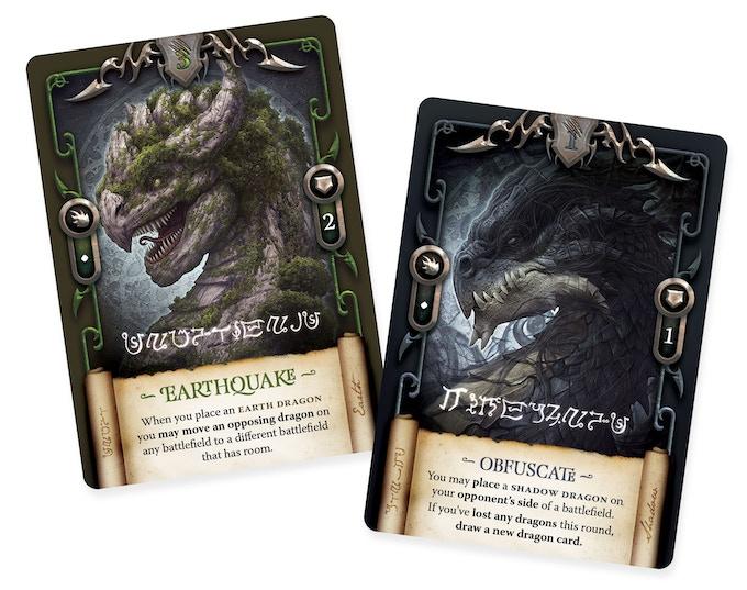 Earth Dragon and Shadow Dragon