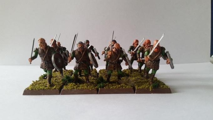 A Unit of Hellesburne Swordsmen