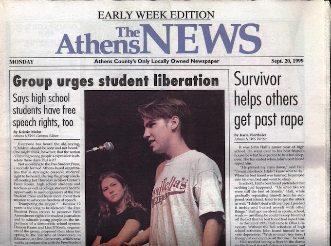 Photo by Patrick White, Athens News