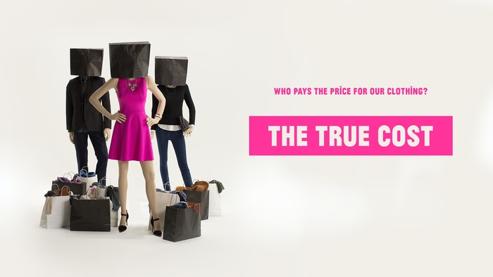 'The True Cost' is a documentary film exploring the impact of the global clothing industry on people and the planet.