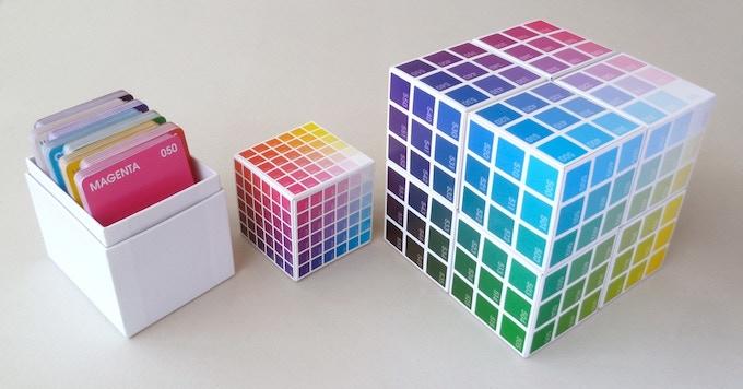 'BreakThroughColour' Deck  |  216 Colour Cards + 54 Cube Cards