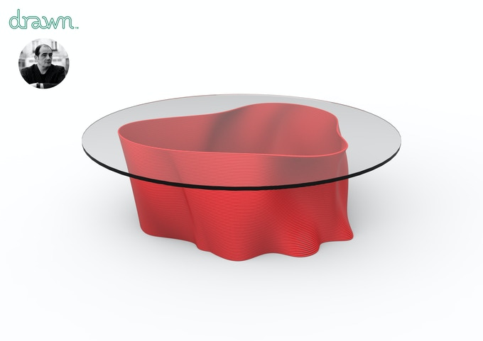 Coffee table by Christian Ghion