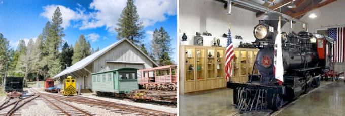 The Nevada County Narrow Gauge Railroad Museum