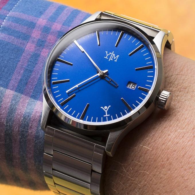 Blue/Chrome Edition