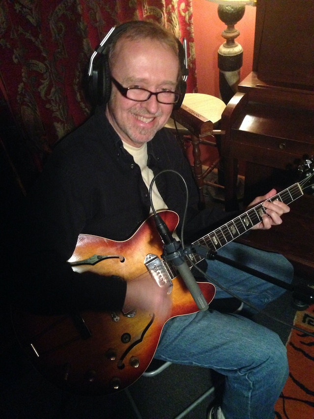 The great George Naha added his magical guitar tone.