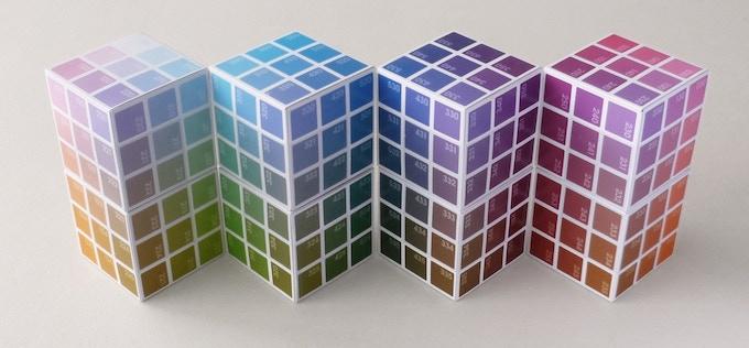 inside the Colour Cube