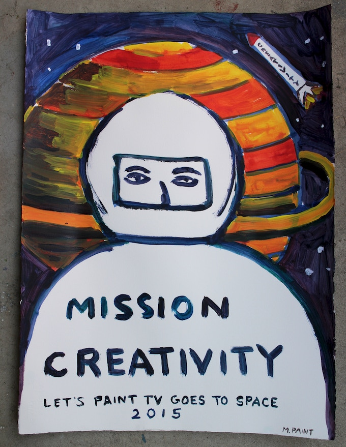 Official Mission Creativity poster