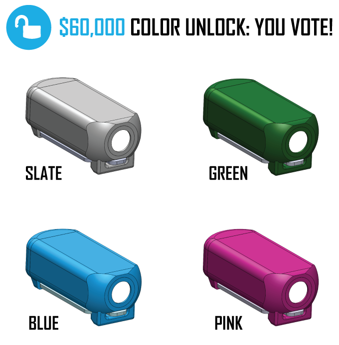 For getting us to $60K we want YOU to decide what color we make next!