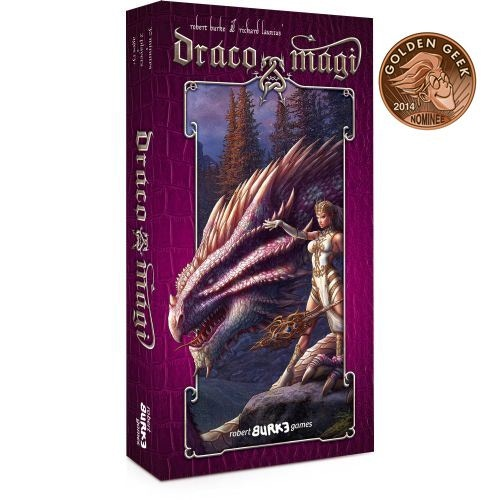 Best 2-Player Card Game of 2014 Nominee Draco Magi