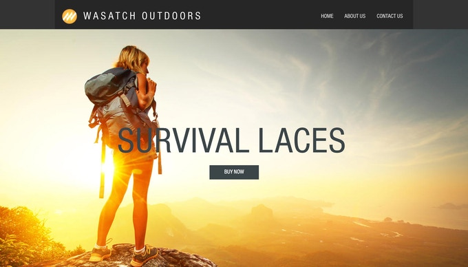 You can now purchase Survival Laces on our website by clicking the picture above or by going to wasatchoutdoors.com