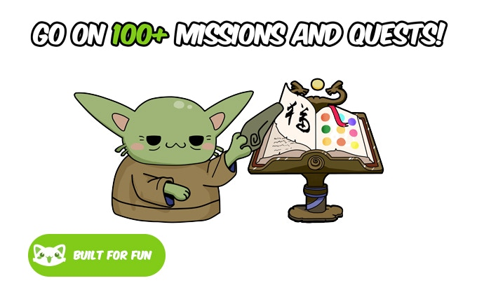Win badges and prizes when you fulfill missions