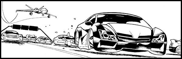 HUGO BROYLER: a high-speed, sci-fi, grindhouse graphic novel