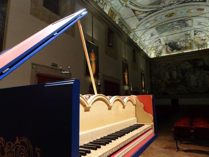 Viola Organista in Collegio Borromeo (Pavia)