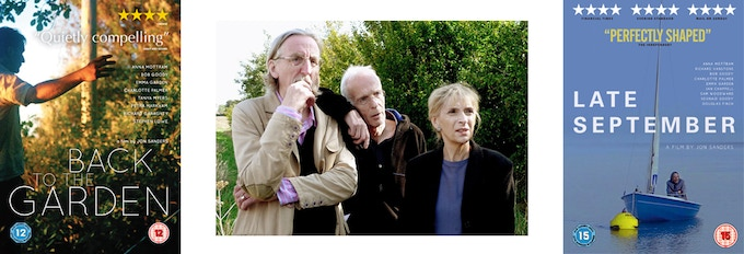 Late September and Back to the Garden featured Bob Goody in the cast, seen here with Jon and Anna