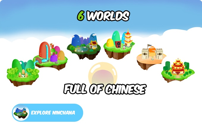 Six worlds to help you go from a beginner to an advanced Chinese learner