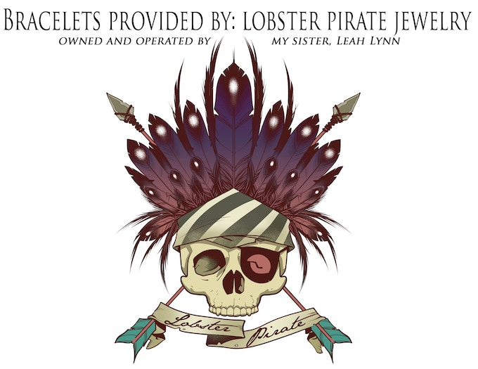 BRACELETS PROVIDED BY: LOBSTER PIRATE JEWELRY