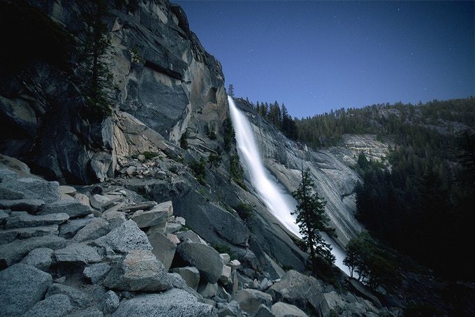 Nevada Fall in Yosemite Valley