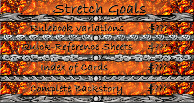 Stretch goal amounts coming soon!