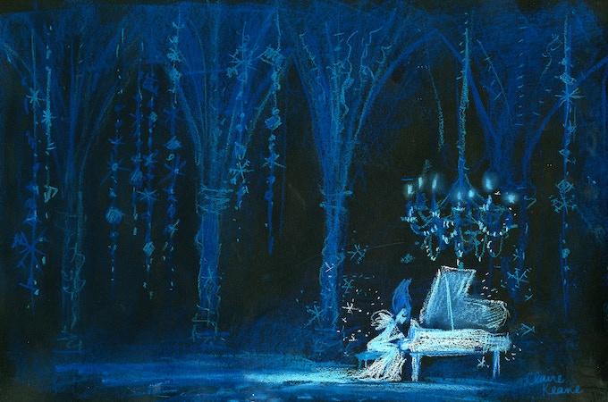 Another interpretation of Bad/Evil Elsa. She's not singing Let It Go...