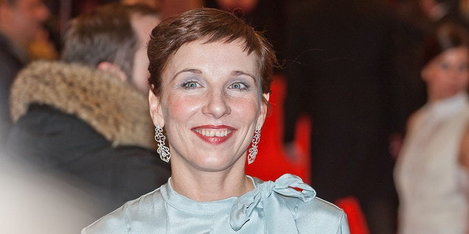Meret Becker at Berlinale (attributed to Siebbi, 2014)