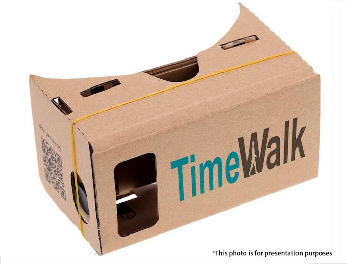TimeWalk Cardboard VR Headset