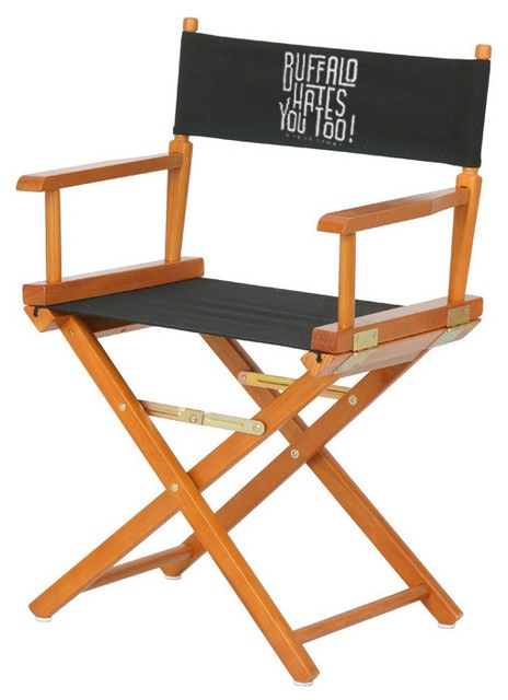 A director's chair from the set of BHU2