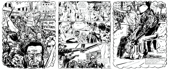 Original art sale! Receive a piece of original artwork from one of Know Your City's comics by Daniel Duford about Tom McCall and the Oregon Vortex $100