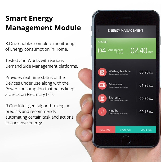 B.One Smart HUB Energy Management