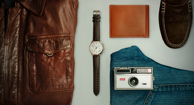 Brown Leather Style
