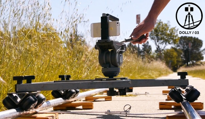 Feeling cinematic? Yeah, us too. Mount up your Hotshot Handle to a dolly and record some tracking shots for your next video project.