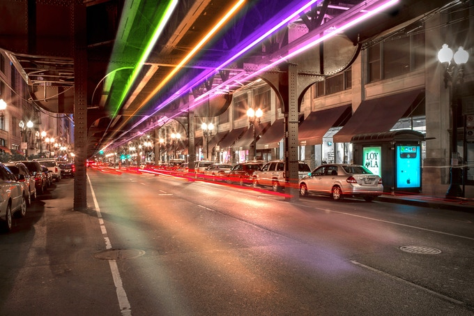 A rendering of The Wabash Lights