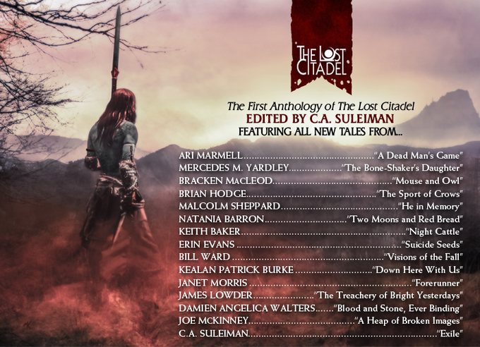 Tales of the Lost Citadel — Table of Contents