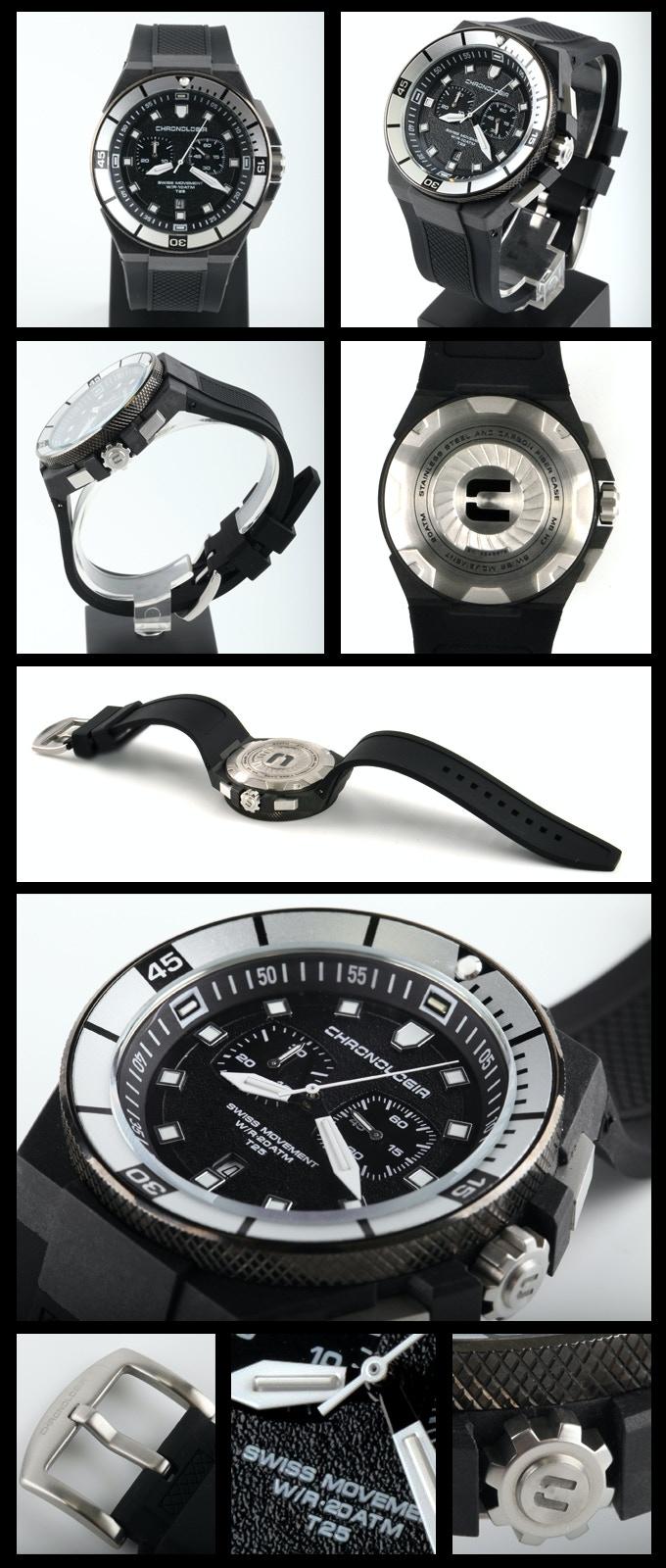 Actual Dive Chronograph Photos