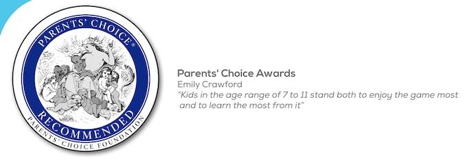 Parents' Choice Award 2015