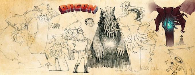 Dagon drafts