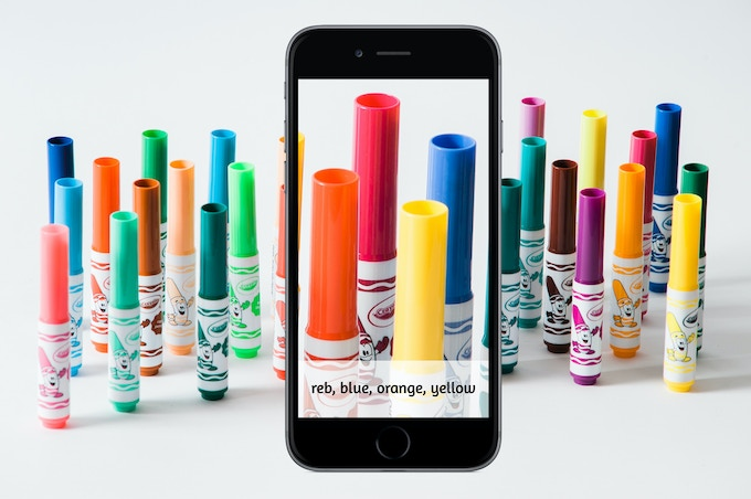 Which colour marker would you choose to sign a love letter?