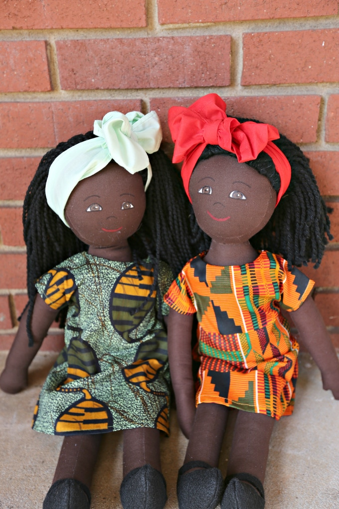 Two of the very first Nomi Dolls