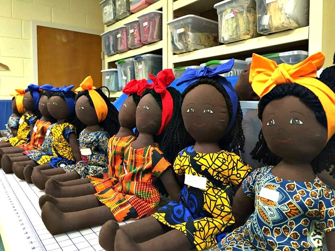 These 13 dolls are our proof-of-concept of the production model