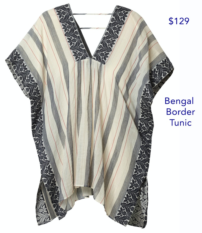 This tunic is one-size-fits all