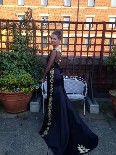 Graces African Themed Prom Dress June 2015