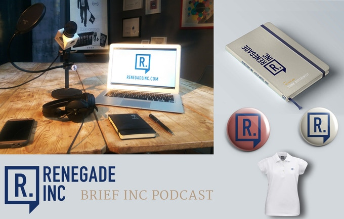 Brief Inc. Podcast, Field Notes, Buttons, and Polo