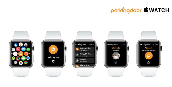 ParkingDoor en tu Apple Watch