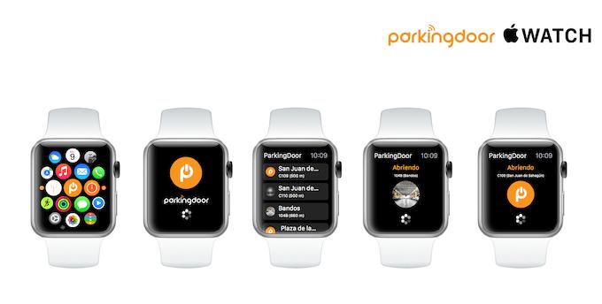 ParkingDoor en tu Apple Watch